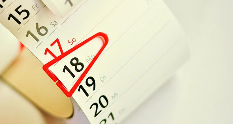 Exhibition dates