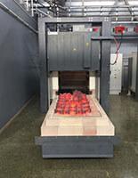 Wärmebehandlungsanlage für Stahl